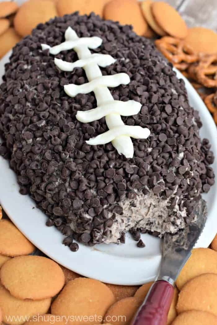 Super bowl snack ideas - Cookies And Cream Cheese Ball