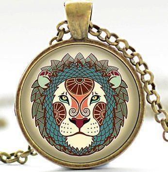 Lion Zodiac Necklace