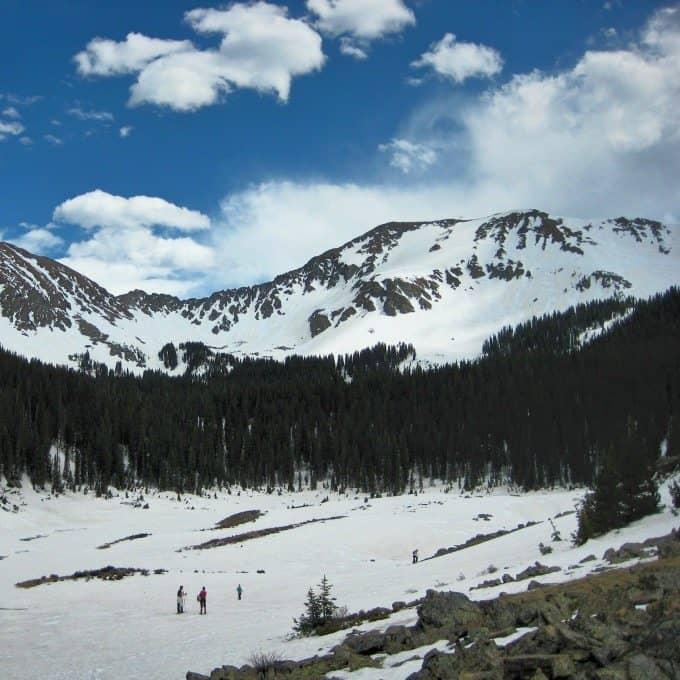 Taos Mountain Snowshoeing | Blue Mountain Belle