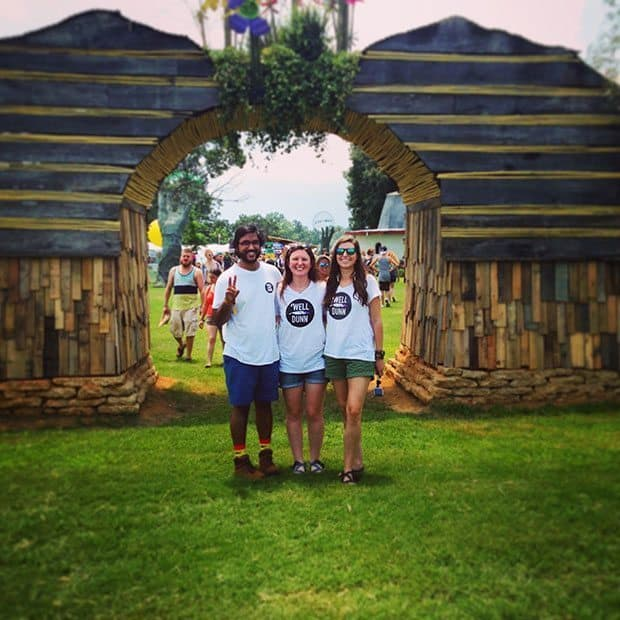 Well Dunn Crew at Bonnaroo Thursday 2015 | Blue Mountain Belle