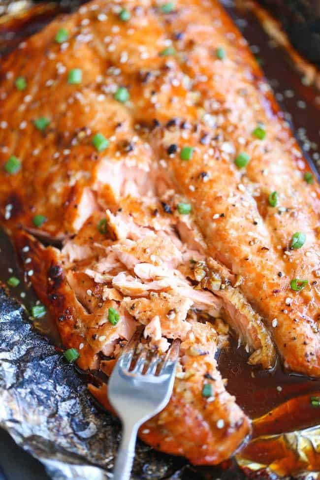 5 ways to cook salmon in foil   Asian Salmon in Foil