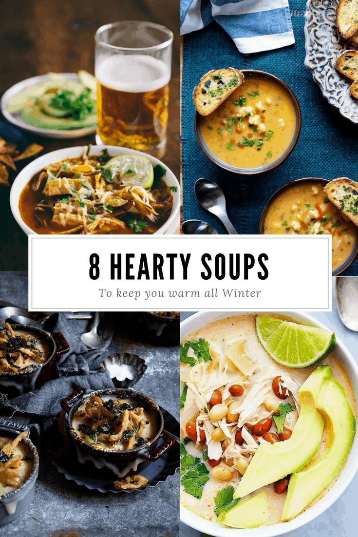 8 Winter Soups & Chilis