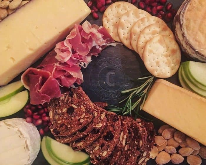 Engraved Brooklyn Slate Cheese Board Giveaway with Blue Mountain Belle