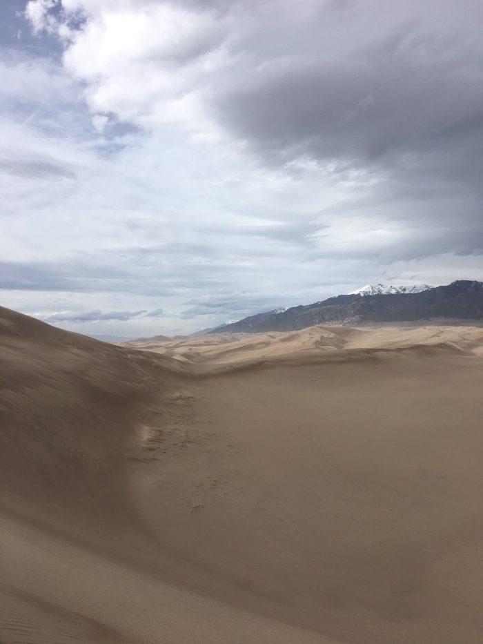 Colorado Road Trip Great Sand Dunes National Park Blue