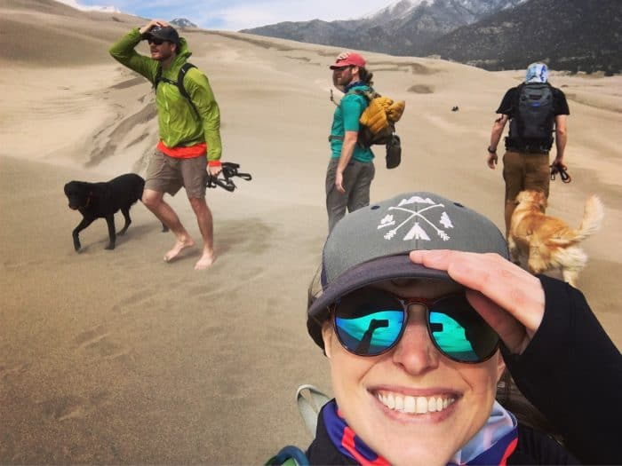 Colorado Road Trip - Great Sand Dunes National Park Group pic