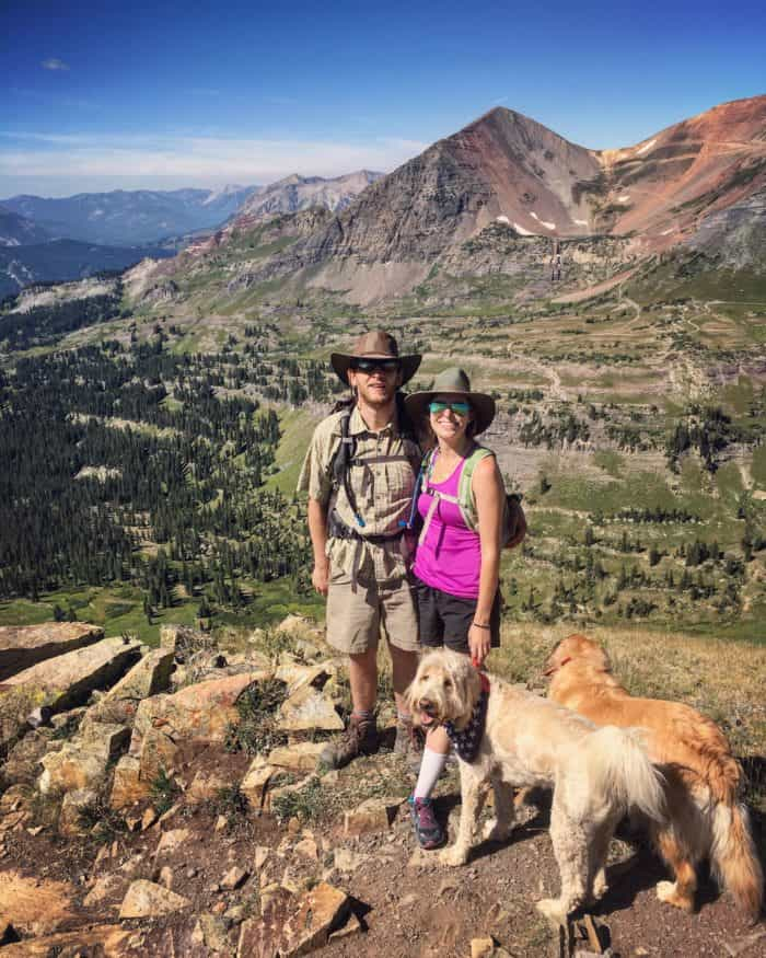 Colorado Road trip: Crested Butte Scarpas ridge hike