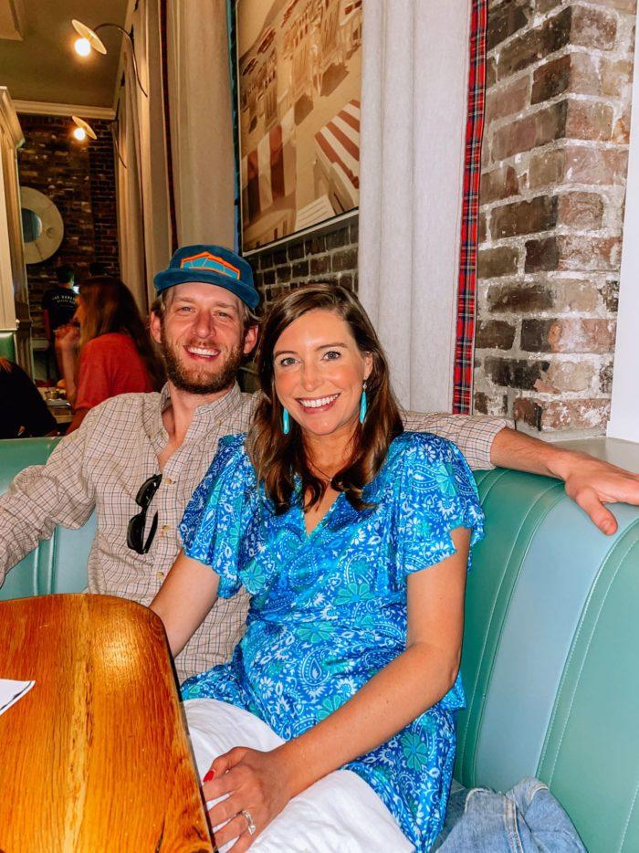 Channing and Clayton Childs at Darling Oyster Bar, Charleston South Carolina