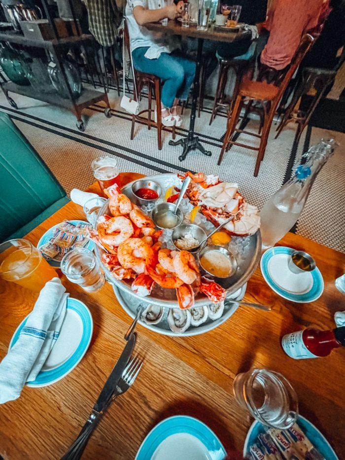 Darling Oyster Bar, Charleston South Carolina