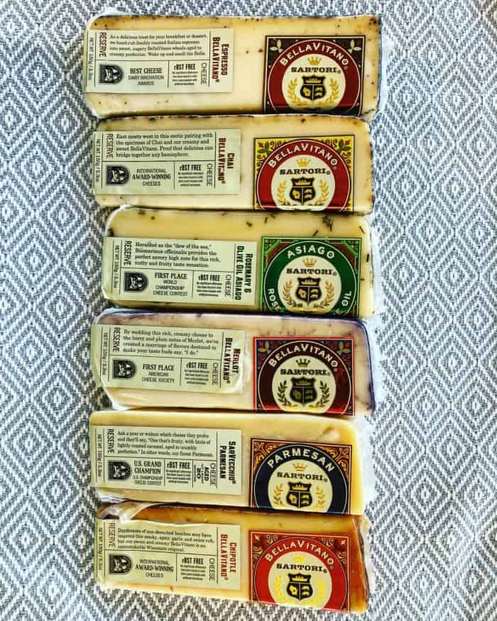 Sartori Cheese Reserve Collection