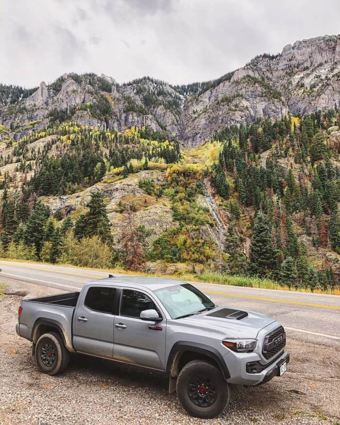 Toyota Million Dollar Highway Road Trip #letsgoplaces - Toyota Tacoma