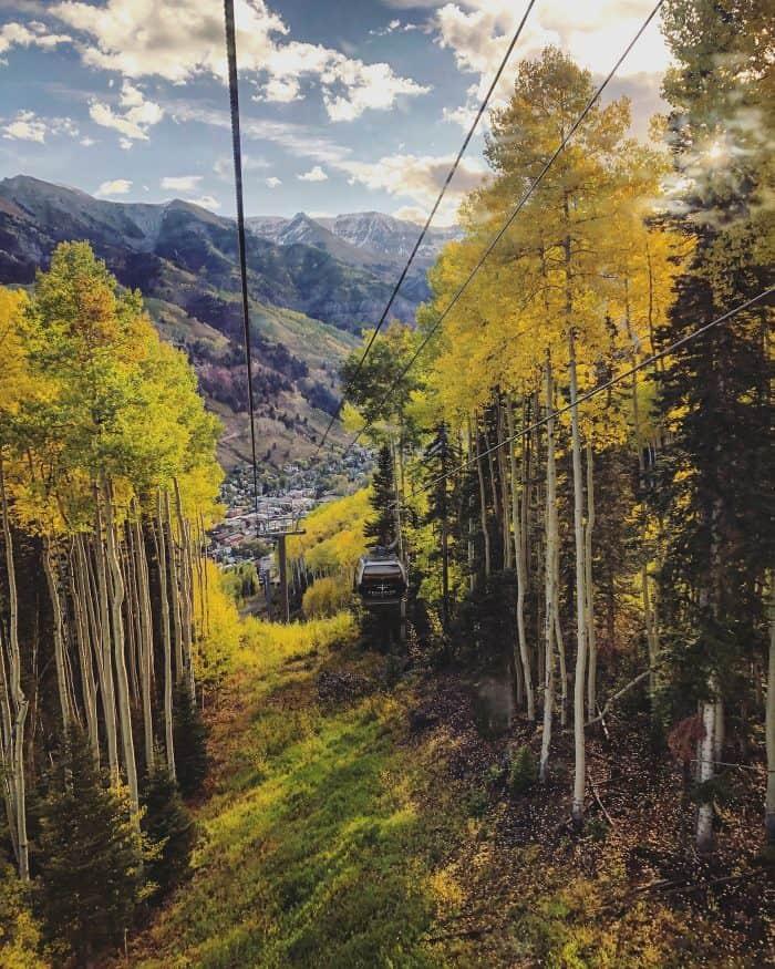 Telluride Gondola in September