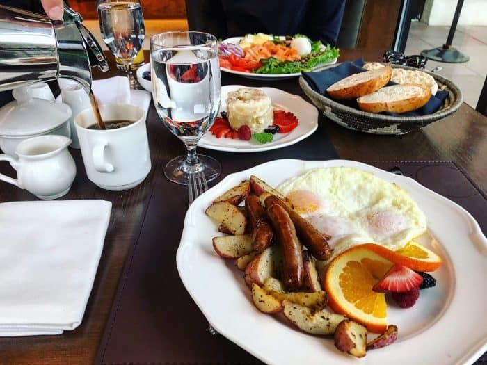 Breakfast at Hotel Talisa Vail