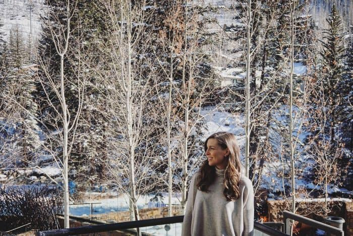 Blue Mountain Belle at Hotel Talisa Vail, Colorado #travelblogger