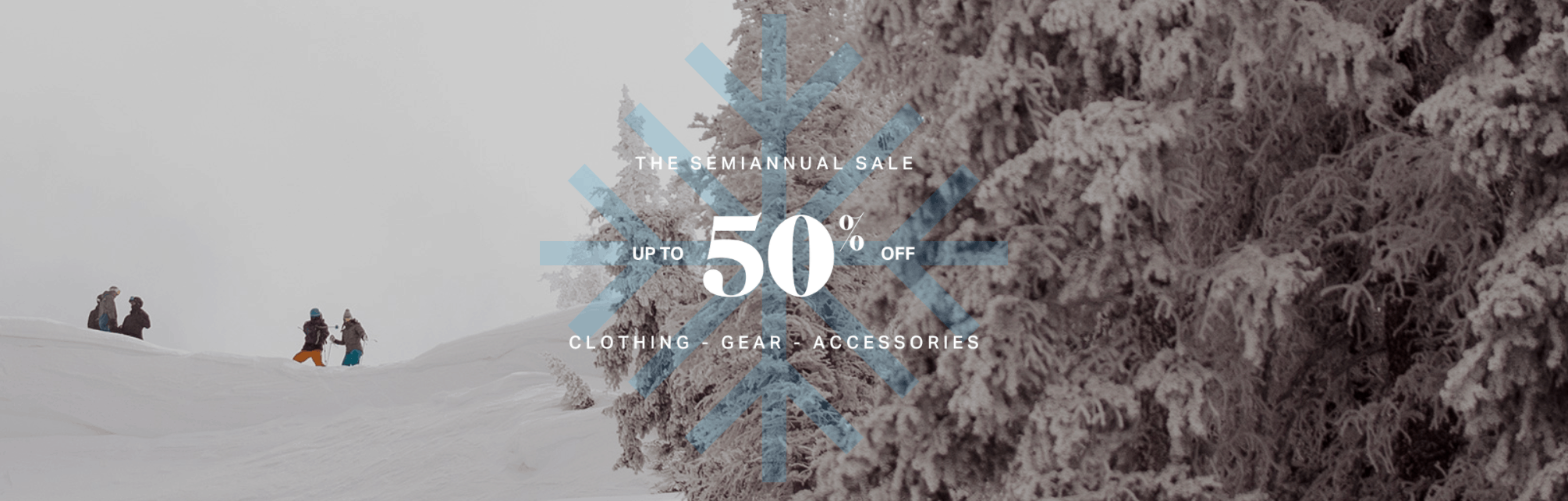 Backcountry Winter Sale 50% Off