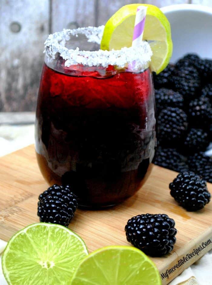 Blackberry Margarita Smash from Incredible Recipes