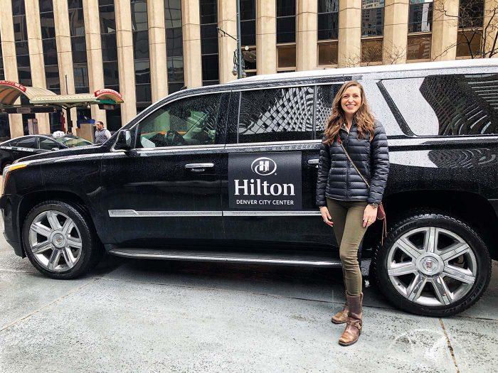 Hilton Denver City Center complimentary car