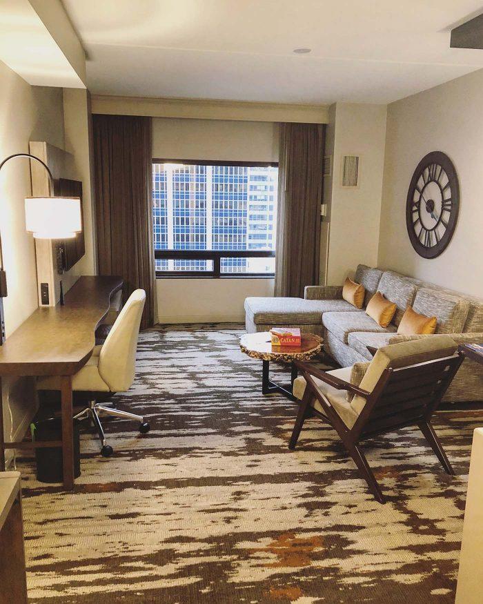 Hilton Denver City Center Junior Suite
