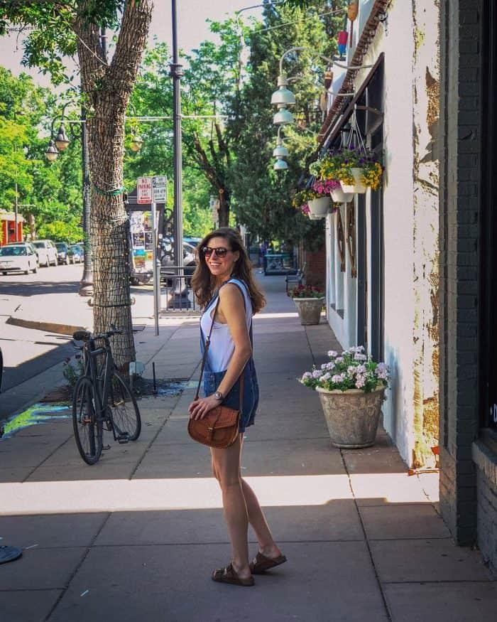 Blue Short Overalls for Summer | Blue Mountain Belle