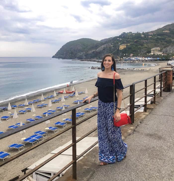 Blue Palazzo Pants in Levento, Italy   Blue Mountain Belle