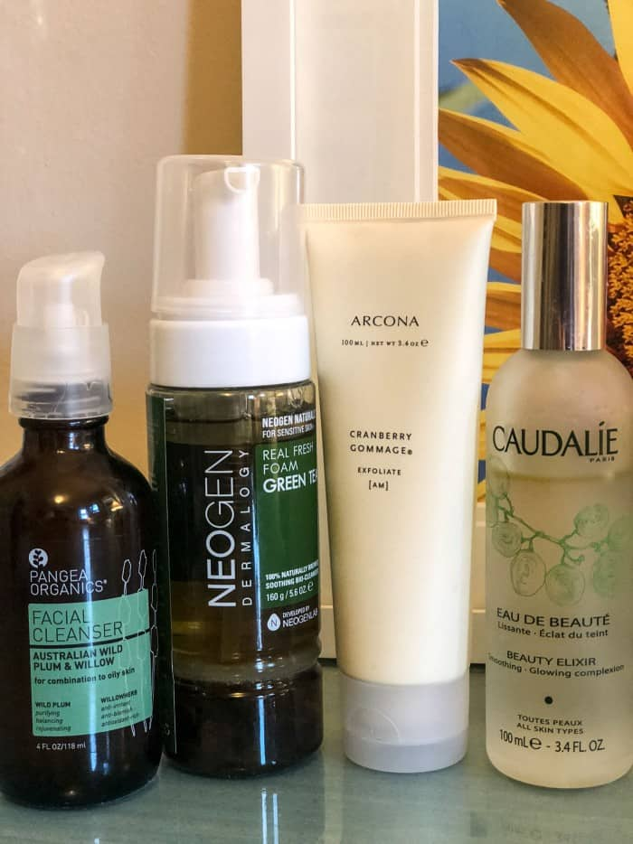 My New Skincare Routine Blue Mountain Belle