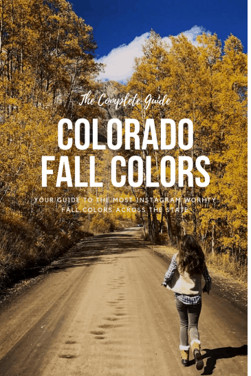 Where to find the best fall colors across colorado