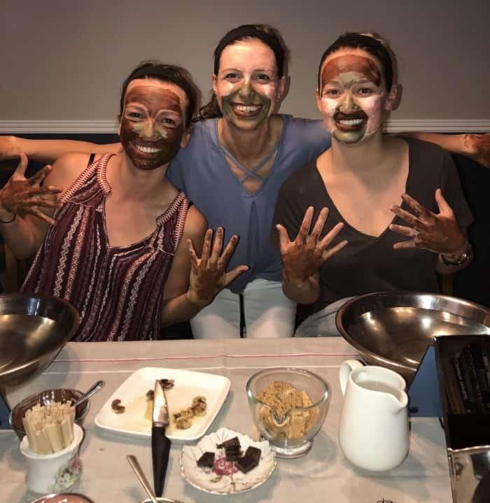 Moondance Botanicals Facial Party