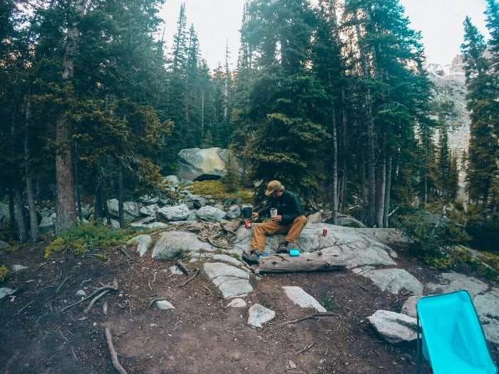 Backpacking to Lone Eagle Peak in the Indian Peaks National Wilderness