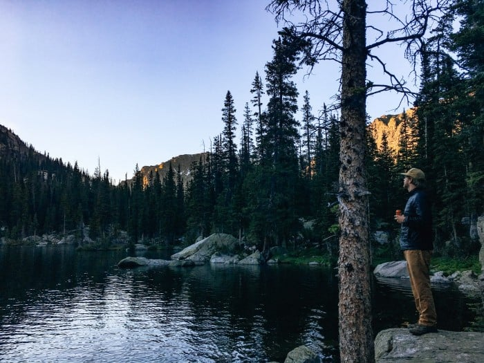 Backpacking to Crater Lake, Lone Eagle Peak in the Indian Peaks National Wilderness