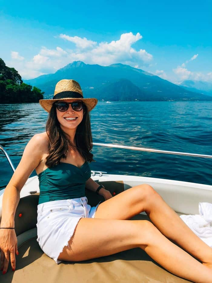 Blue Mountain Belle boating in Lake Como - 24 hour guide to Lake Como