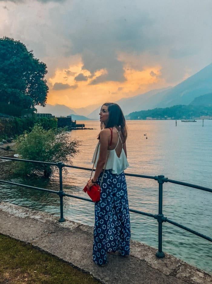Blue Mountain Belle in Bellagio, Lake Como, Italy