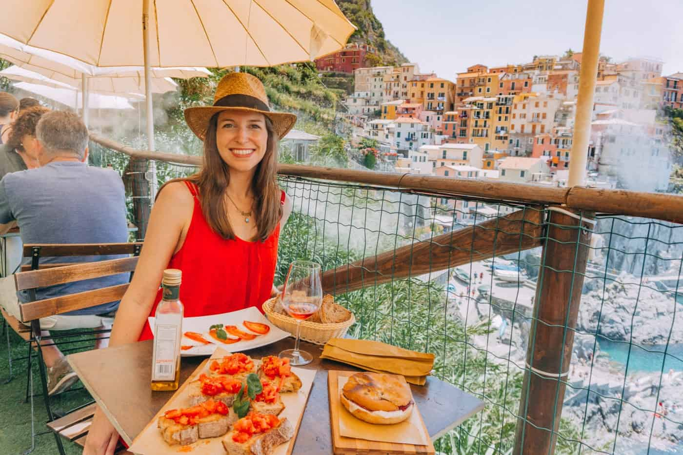 Lunch an Nessun Dorma in Manrola Italy