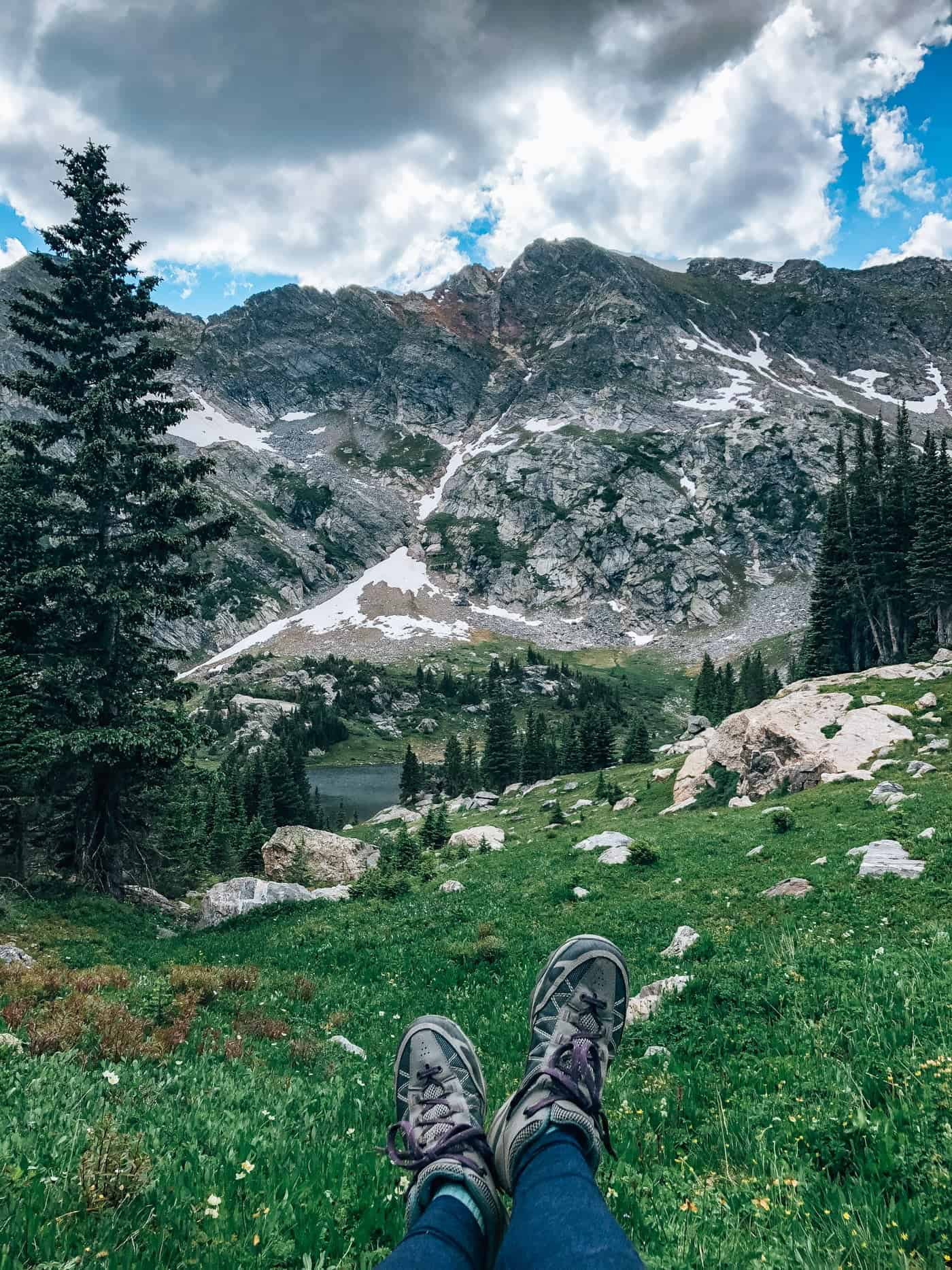 Backpacking to Missouri Lakes, Holly Cross Wilderness