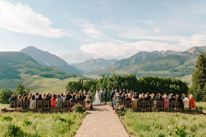 Blue Mountain Belle's Crested Butte Wedding