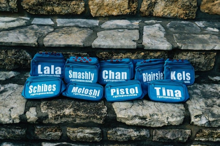 Custom Phish Themed Fanny Packs