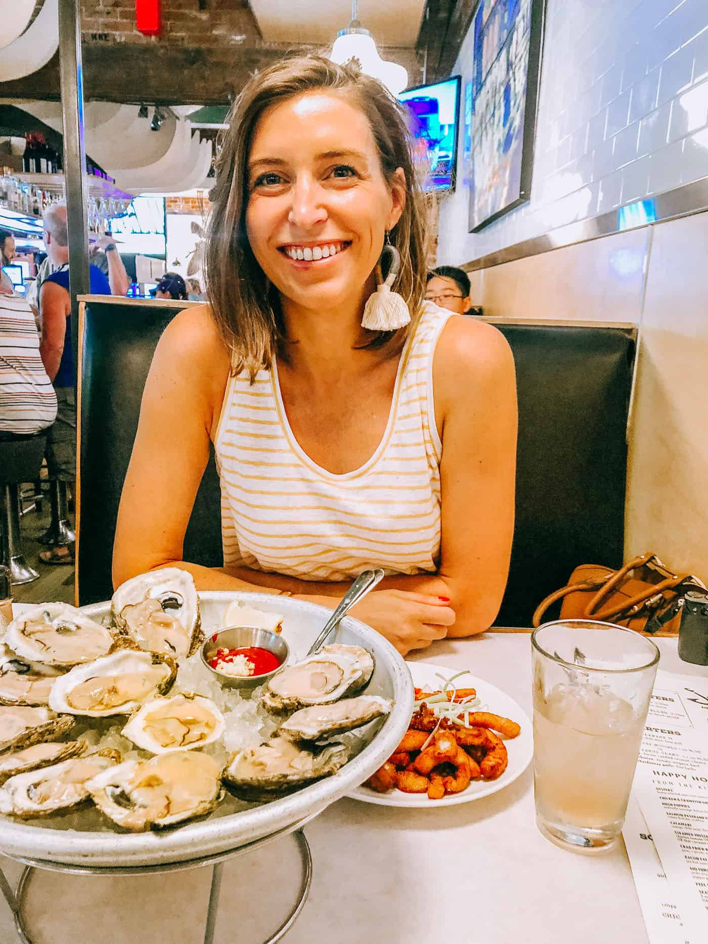 Blue Mountain Belle - Jax Fish House Lodo Oyster Happy Hour
