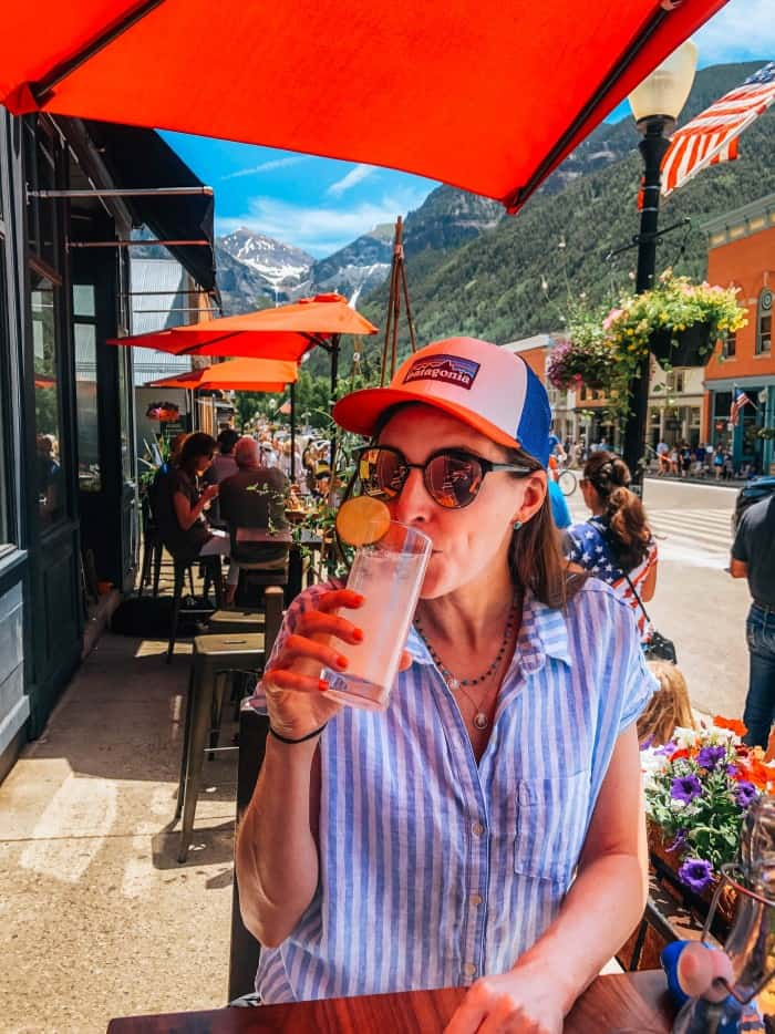 Margs at Wooden Telluride
