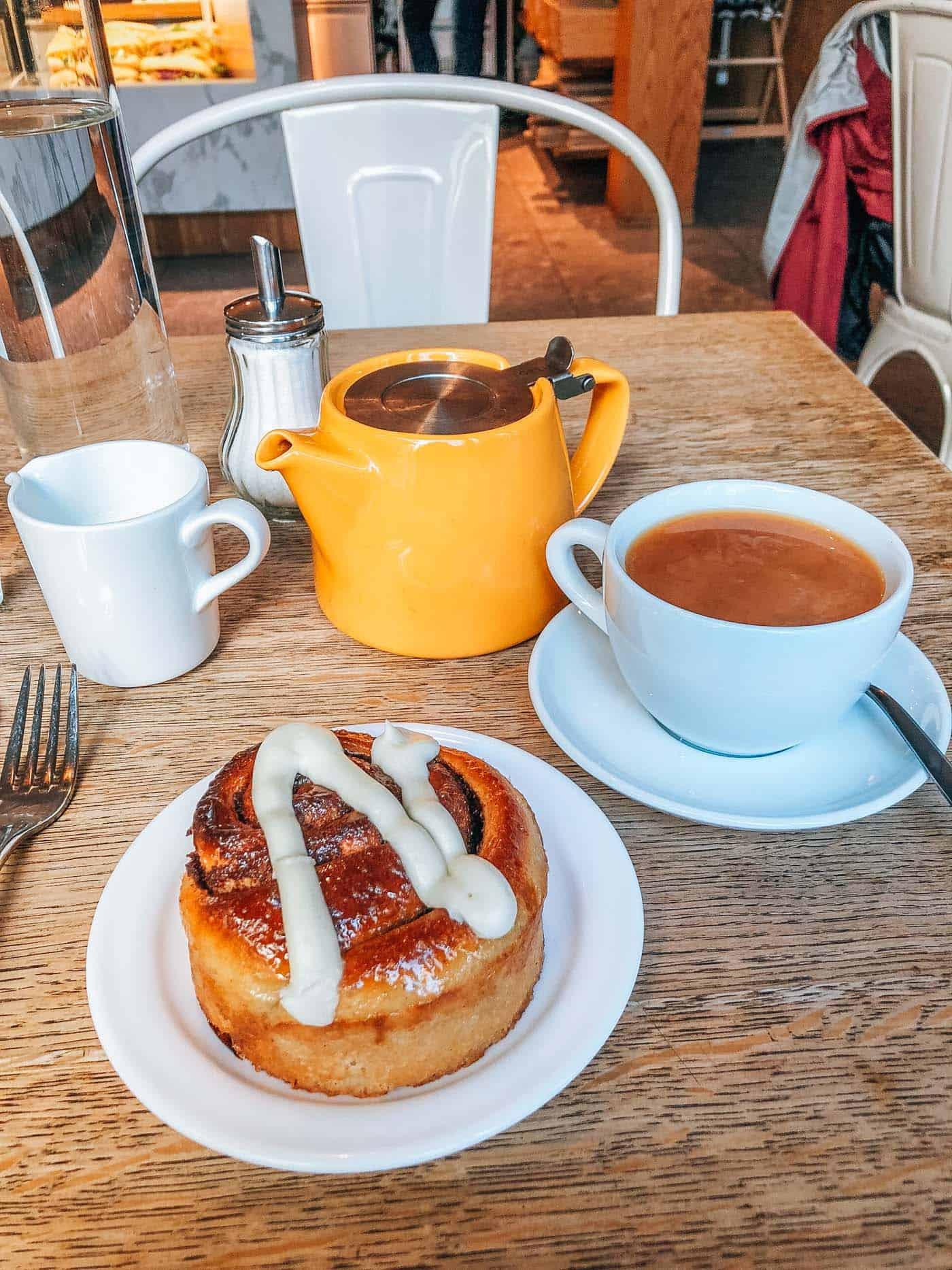 breakfast at Sandholt in Reykjavik