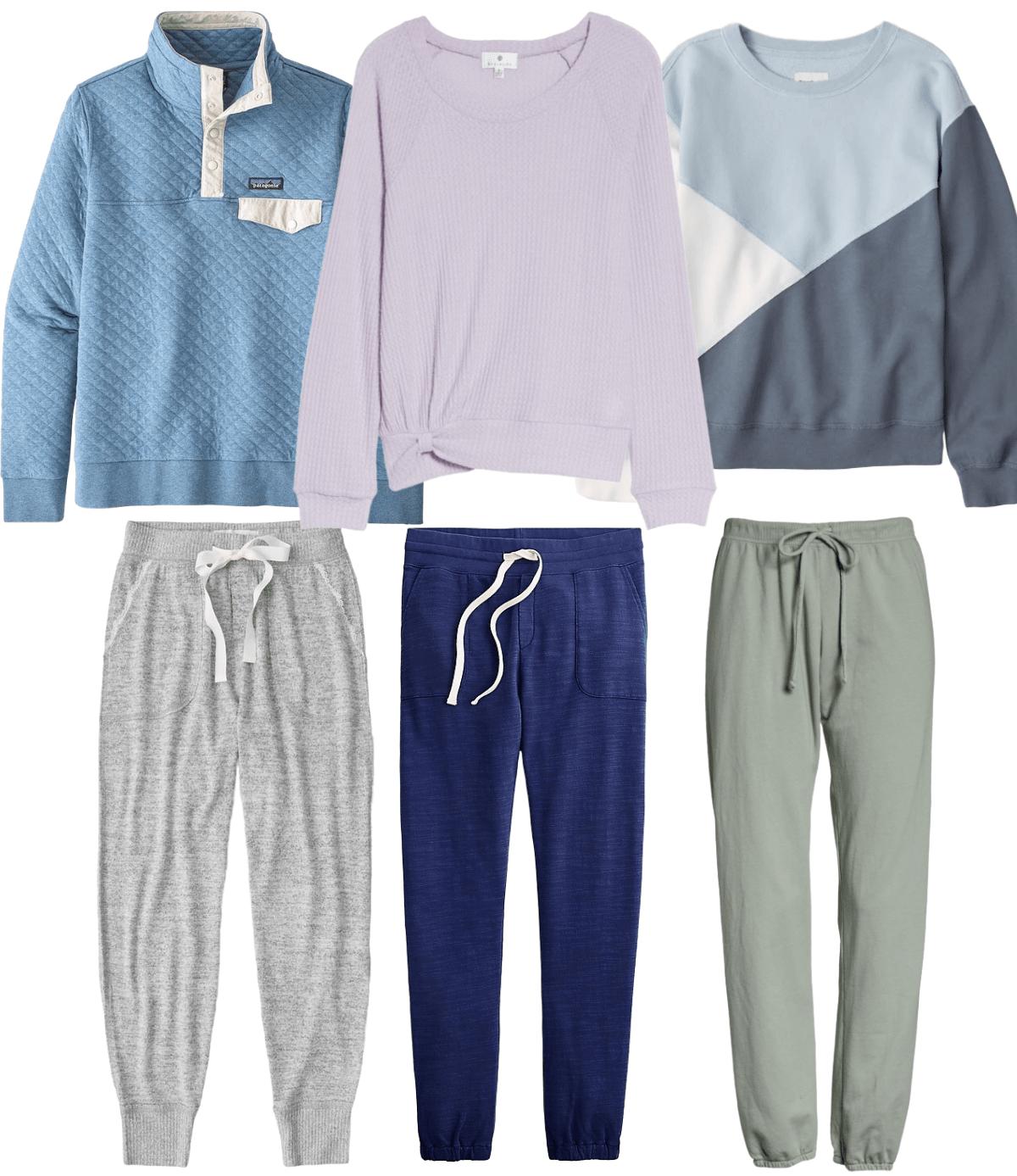 3 Mix match loungewear sets