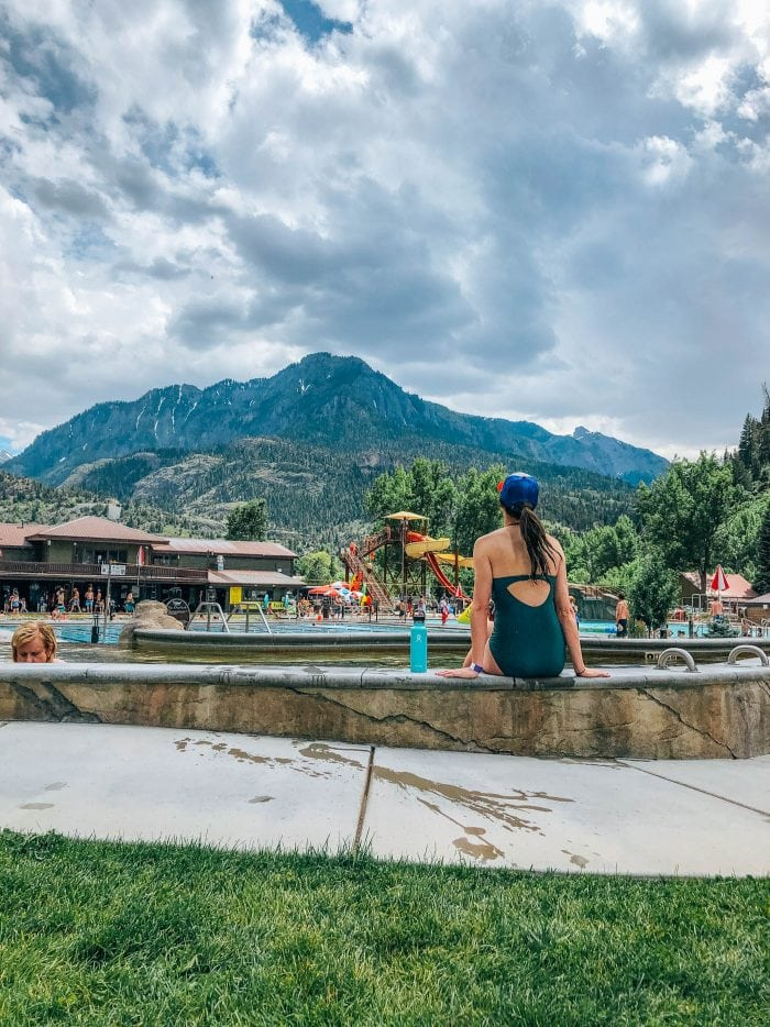 Ouray Town Hot Springs