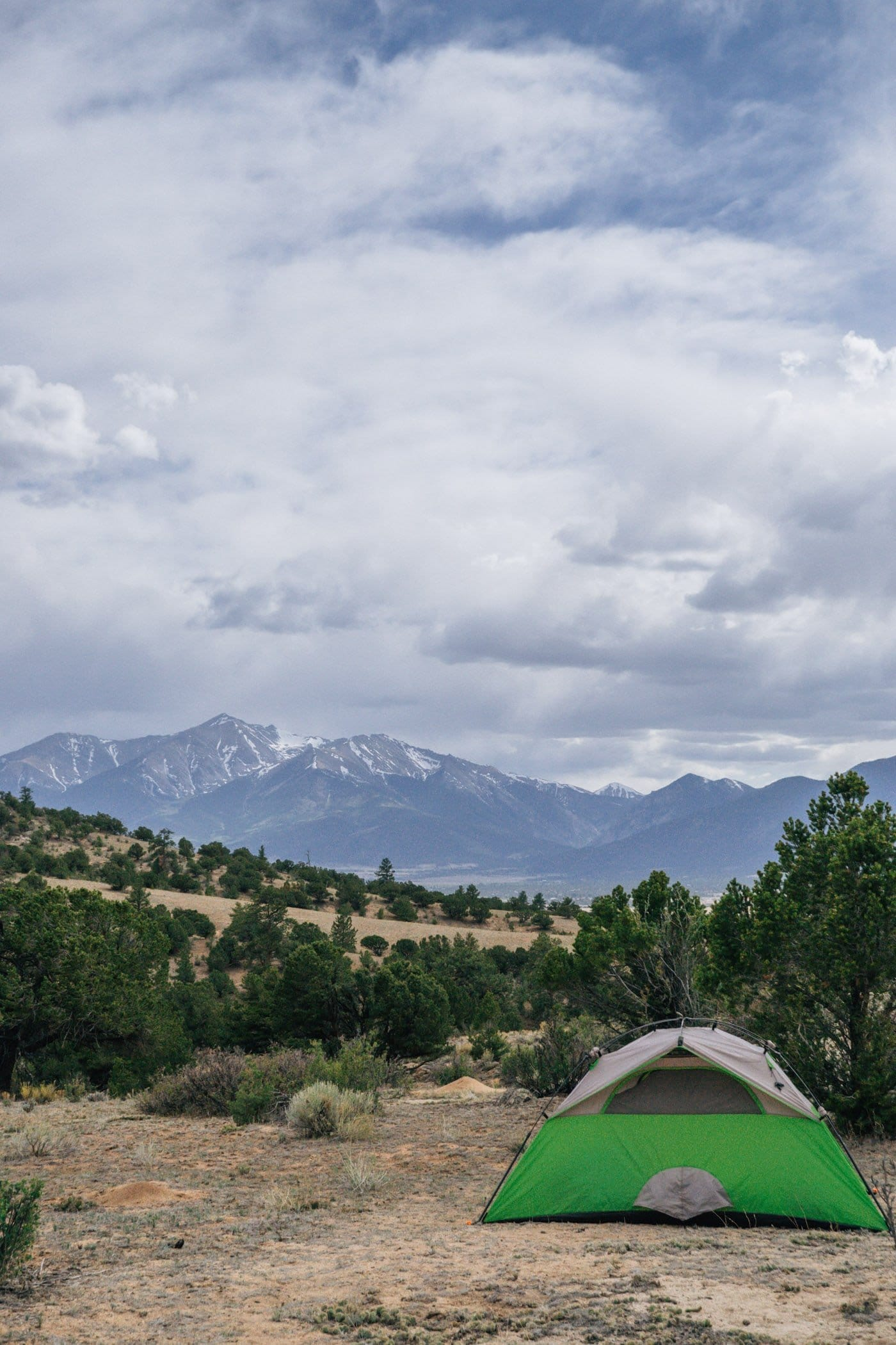 What to pack camping in Colorado