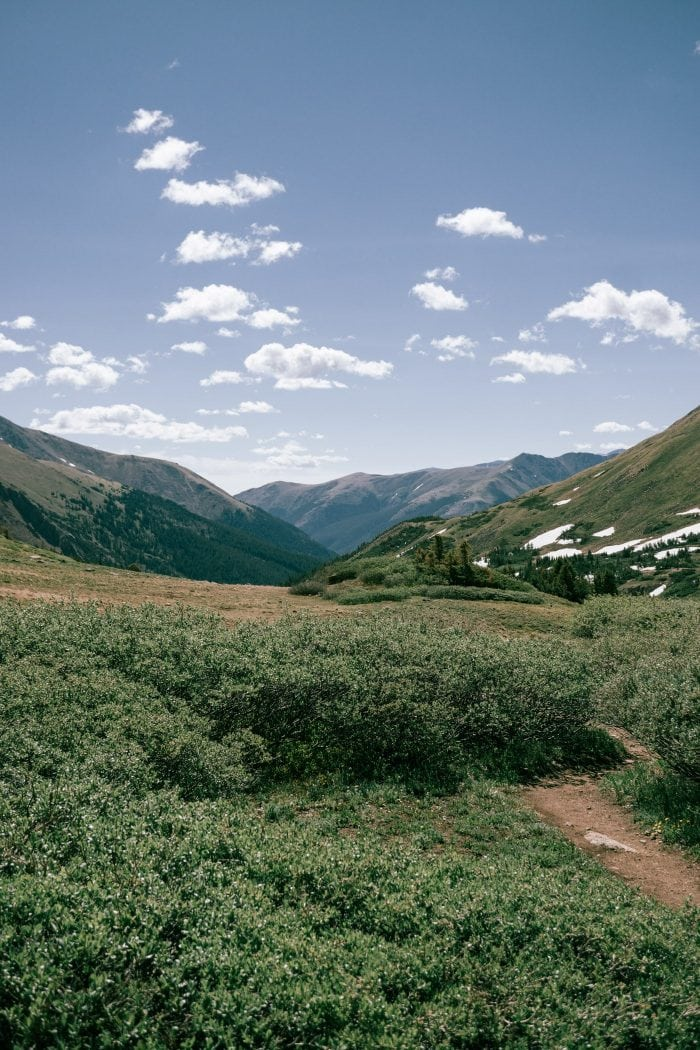 Hiking to Herman Gulch Colorado