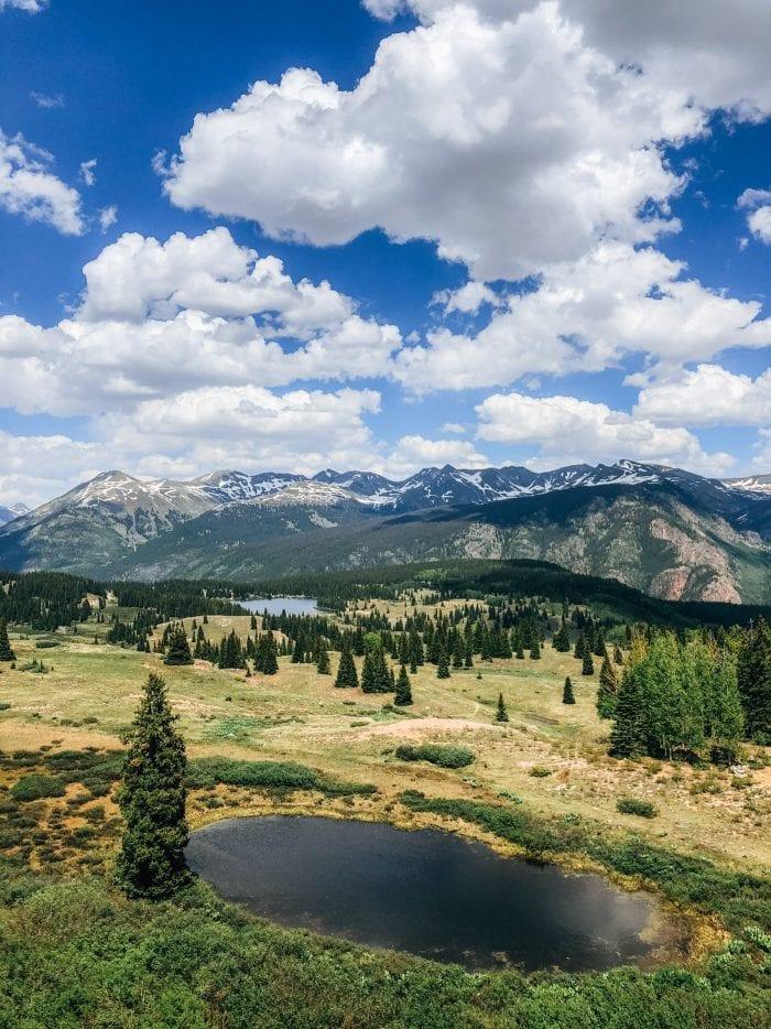 View of Molas Lake, Colorado