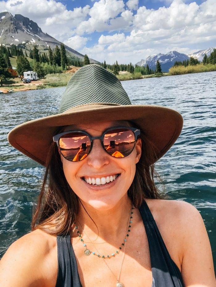 Kayaking at Molas Lake, Colorado