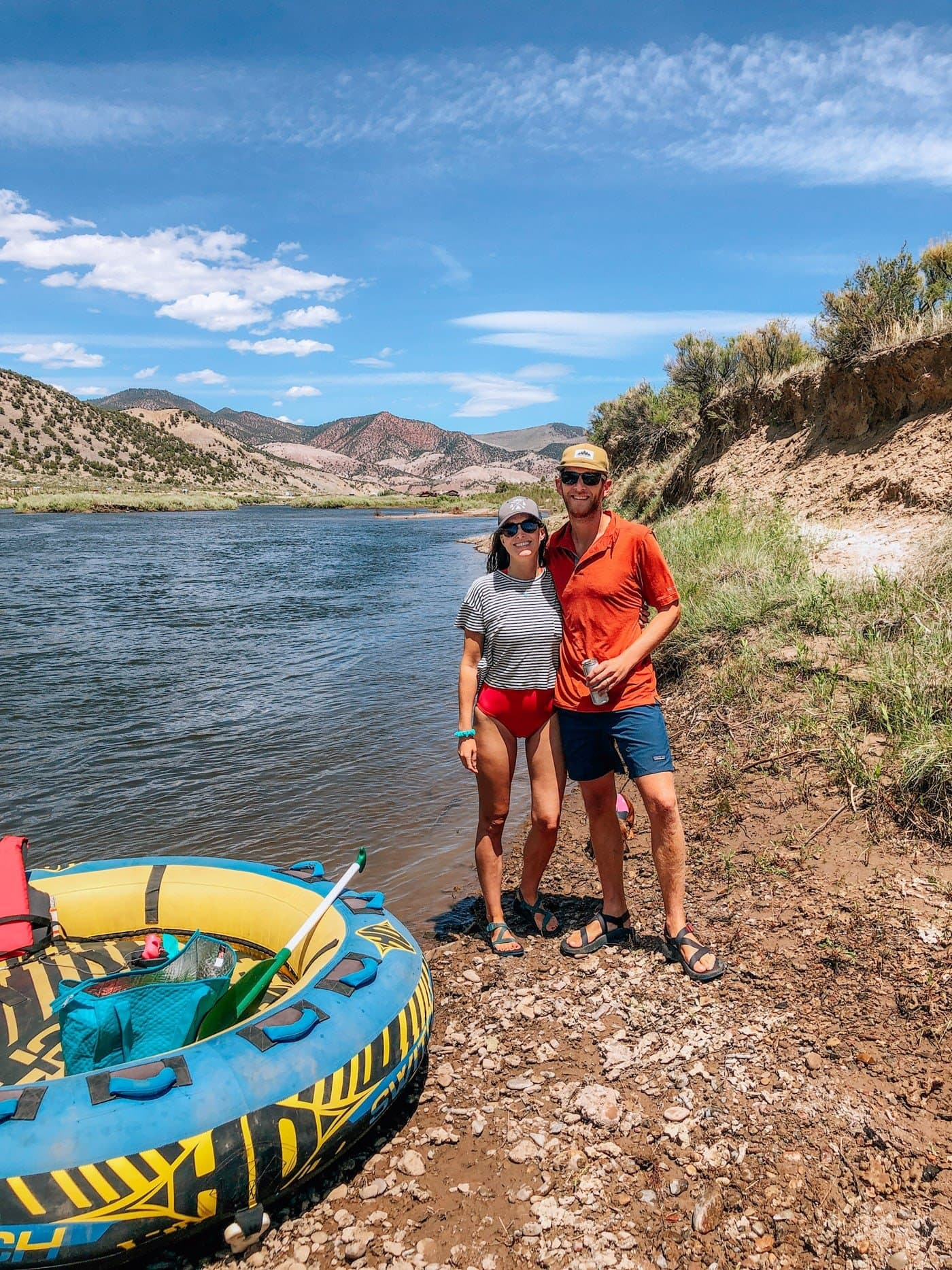 Turtle Tubing on the Colorado River