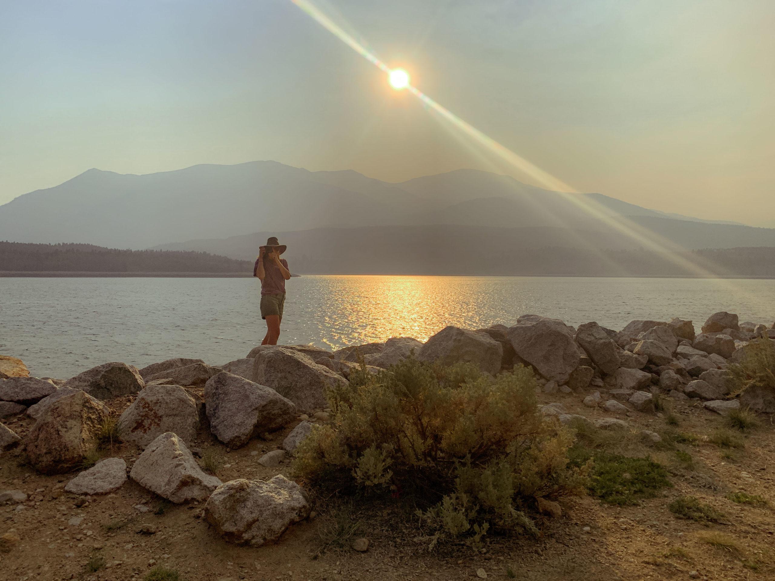 Camping at Twin Lakes