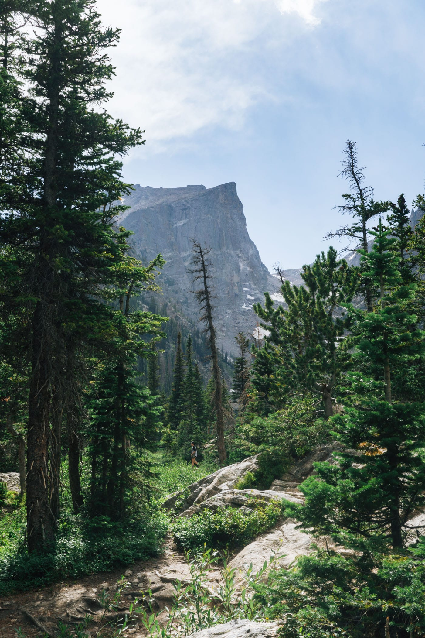 View from Dream Lake, Rocky Mountain National Park, Colorado