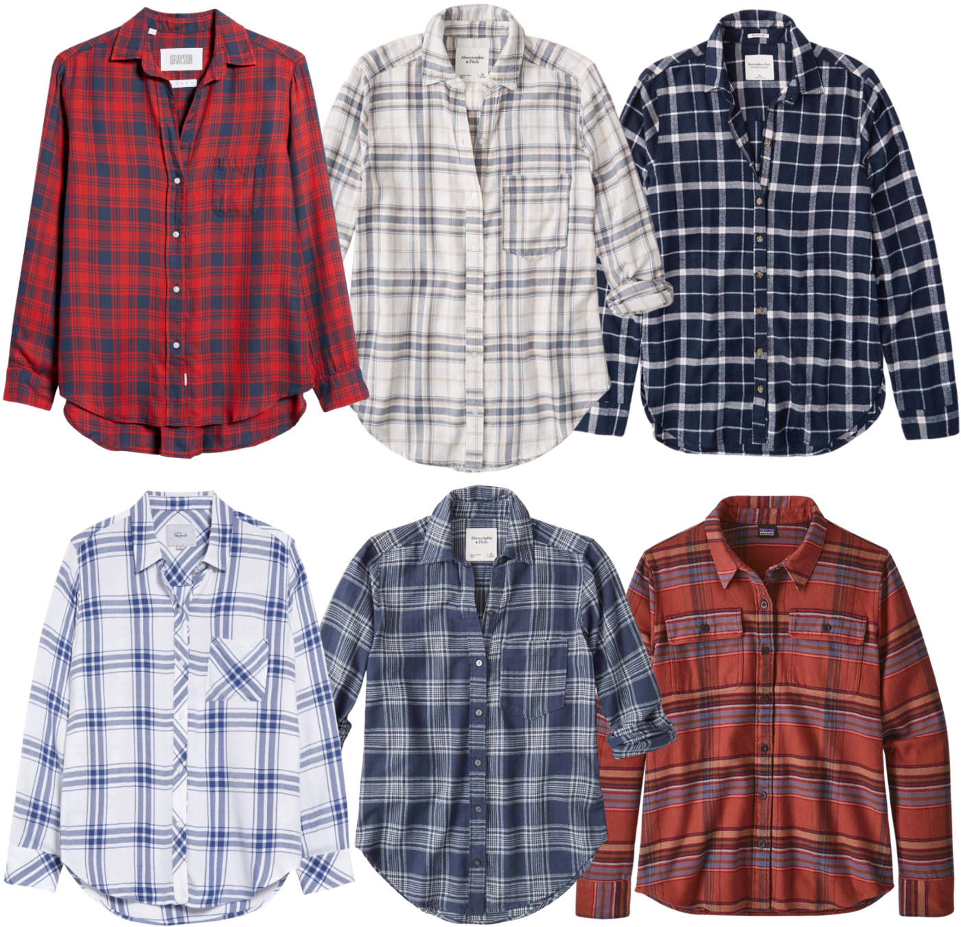 6 Flannels for Fall