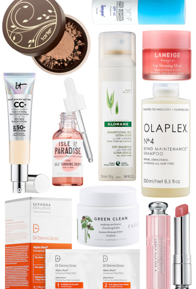 Product round up from Sephora