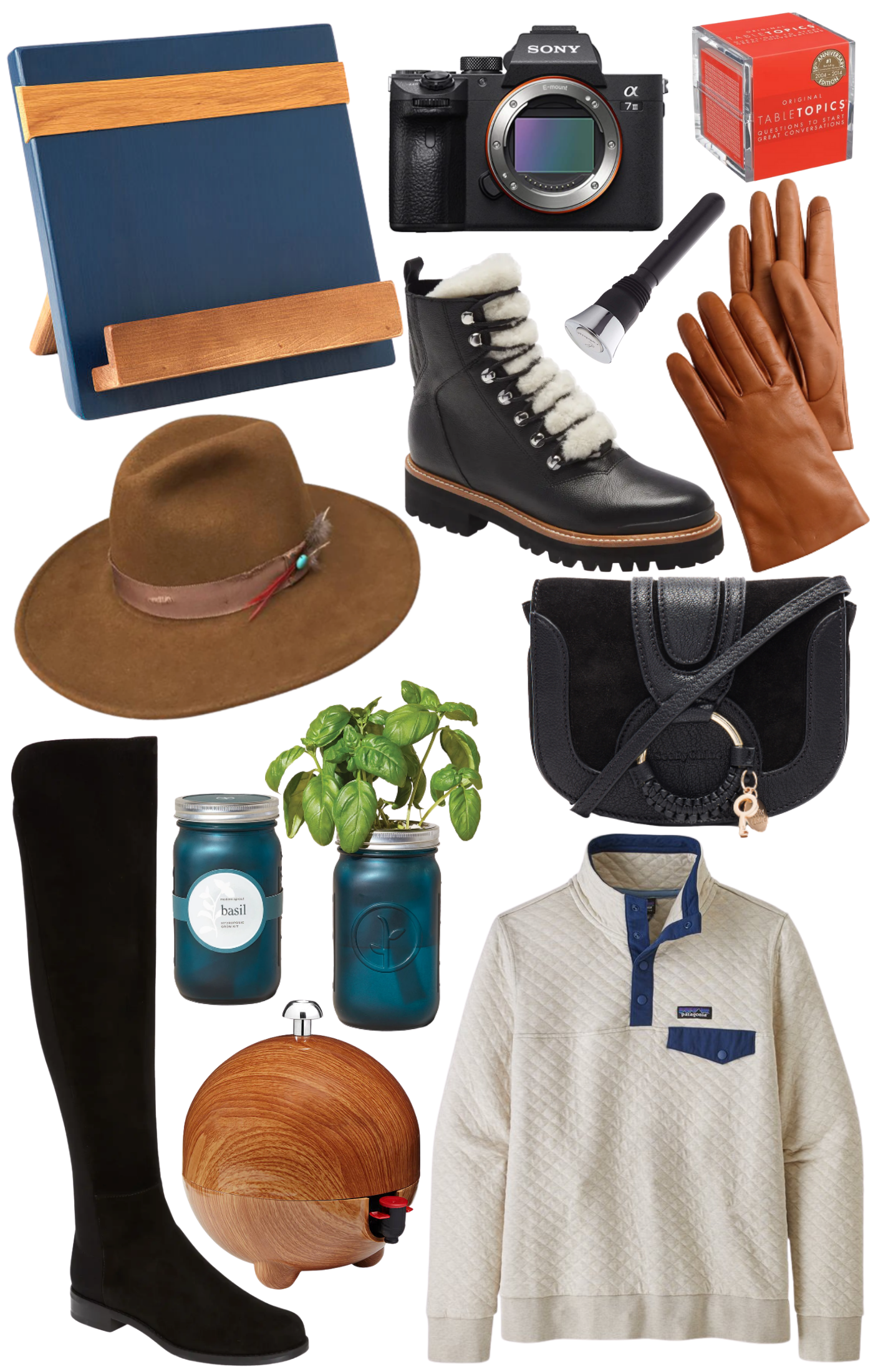 Gift ideas for her collage