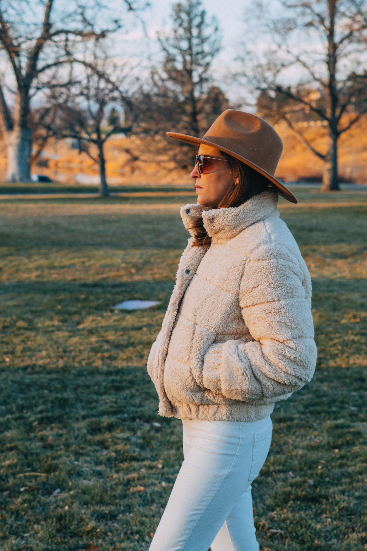 Winter Staple - The Sherpa Puff Jacket